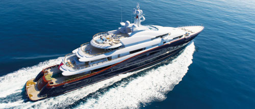 What are luxury yachts?