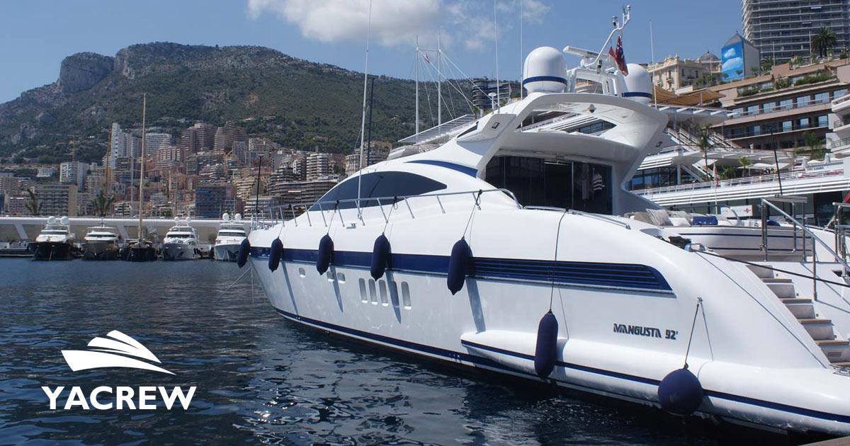 Yacht Jobs - Motorman